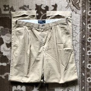 Polo Ralph Lauren Mens Pleated Pants Relaxed